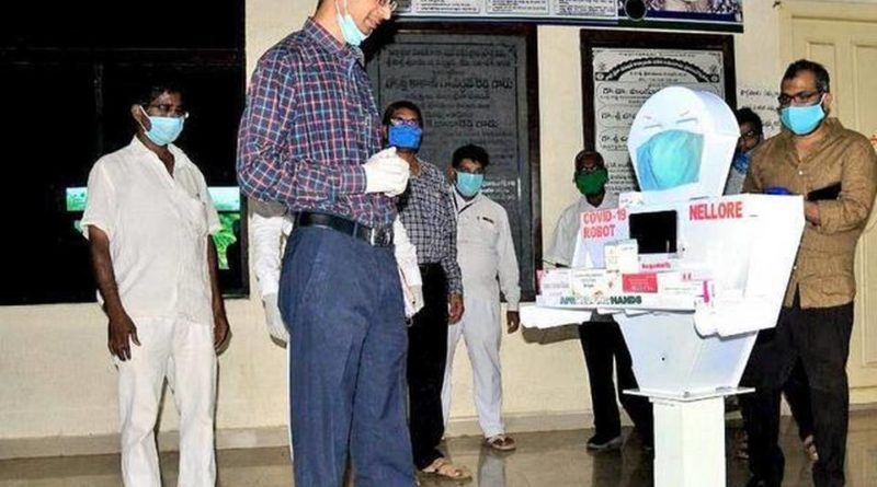Nelbot To Assist Doctors At Nellore Government Hospital