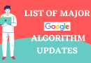 List Of Google Algorithm Updates Google Core Updates List​